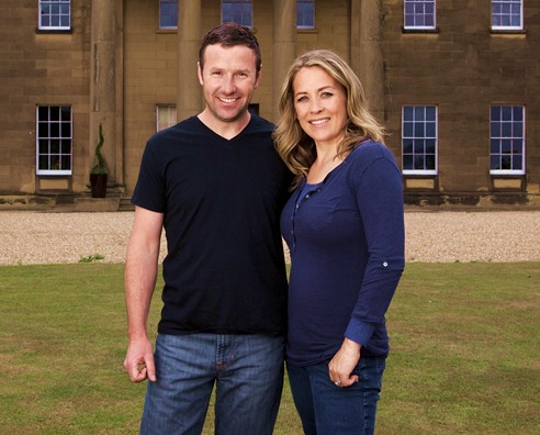 An image of Sarah Beeny & her husband